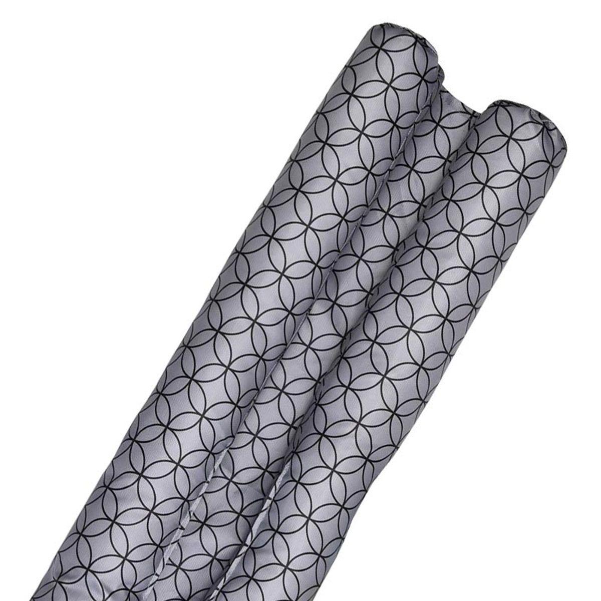 Bas de porte double Trocadéro noir 80 cm