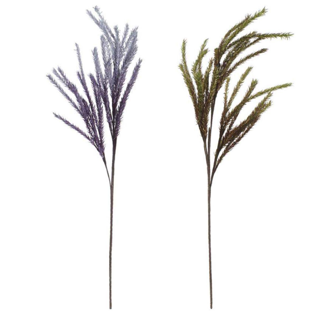 Branche florale artificielle décorative H. 125 cm