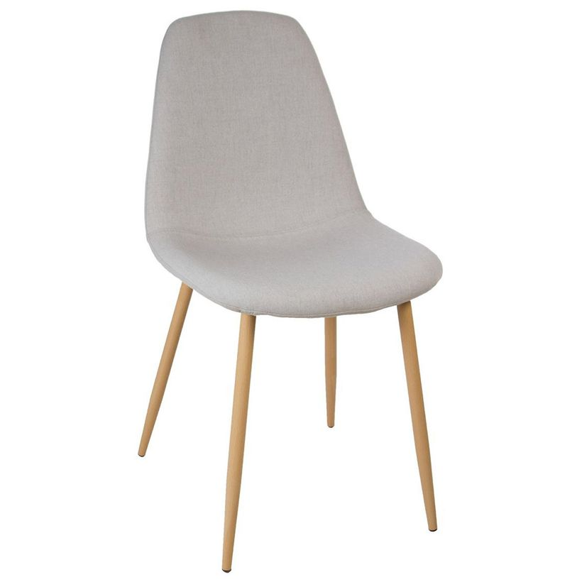 Chaise gris souris scandinave Roka