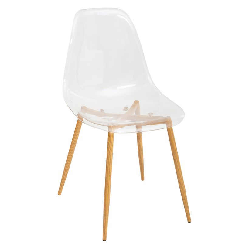 Chaise translucide Taho