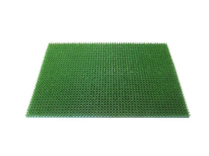 Paillasson extérieur gazon vert 40x60 cm