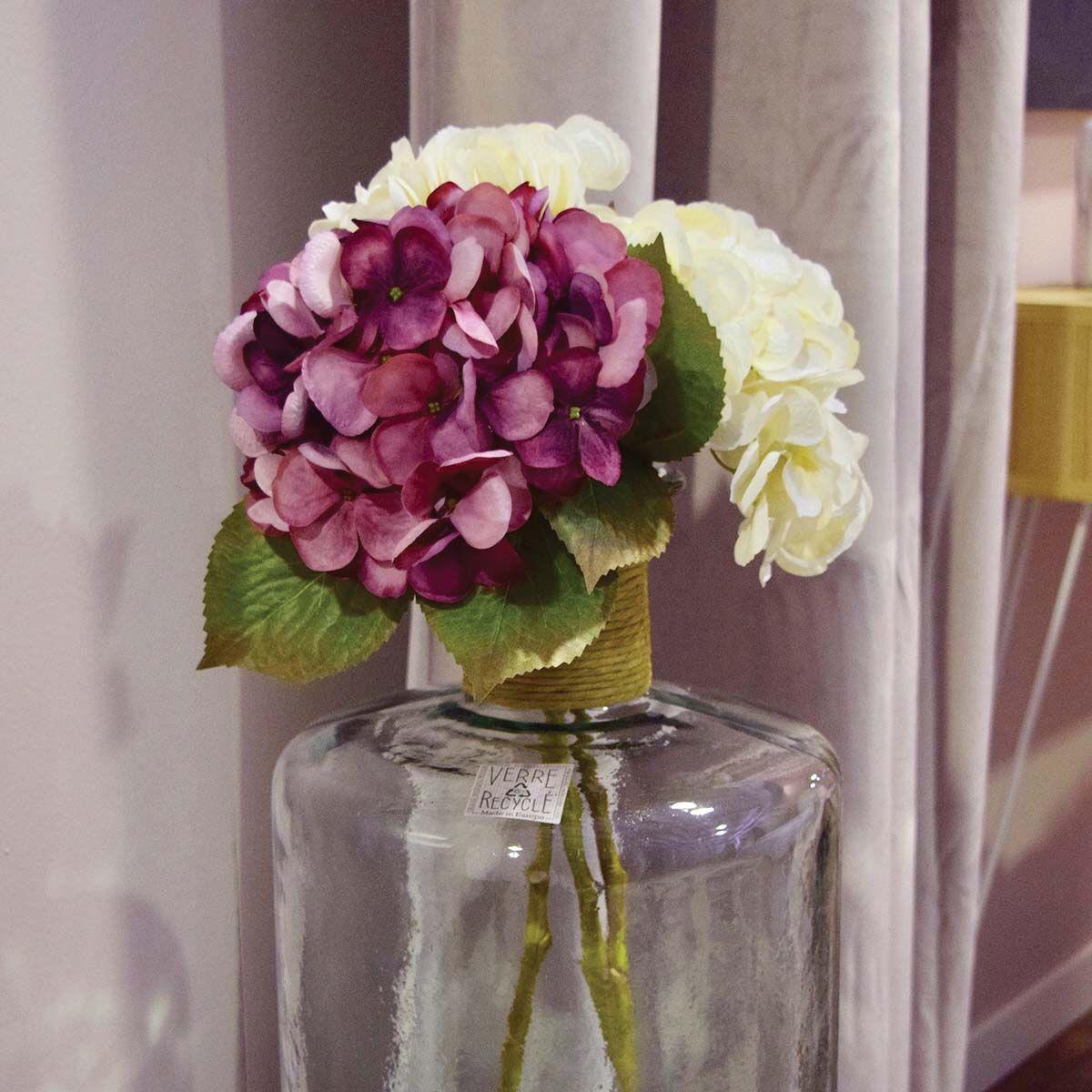 Tige de fleur artificielle Hortensia