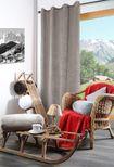 Polochon polaire noir Pila 20x45 cm