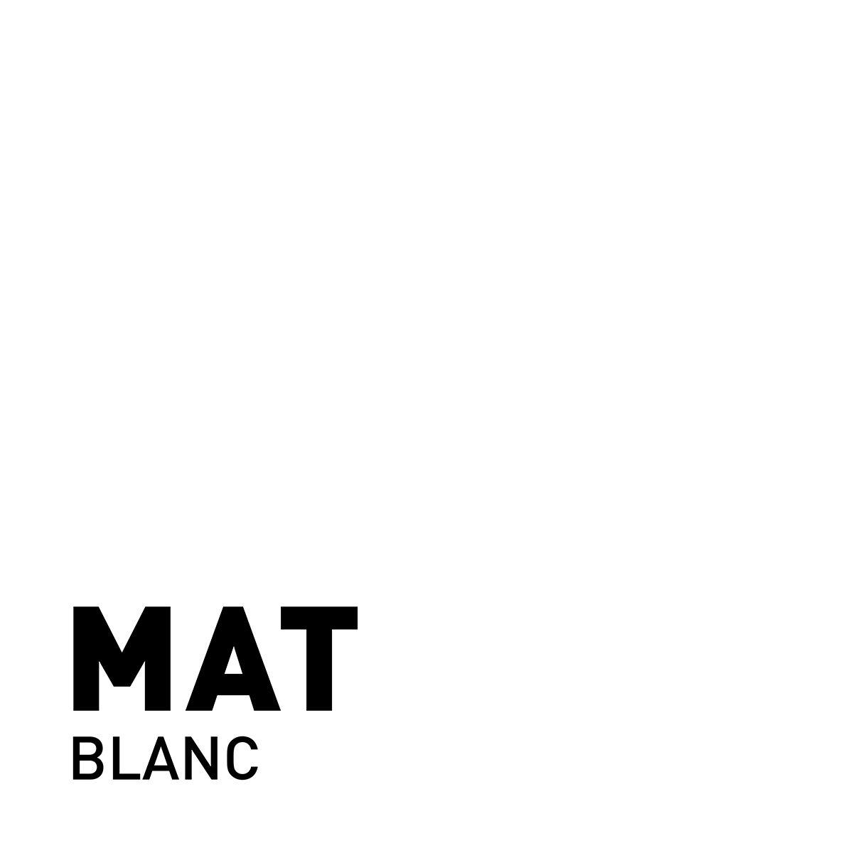 Peinture blanc mat 20 minutes chrono Renaulac