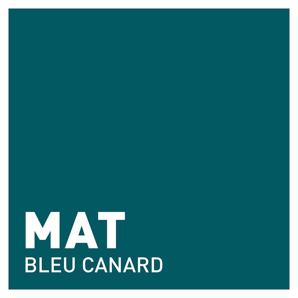 Peinture bleu canard mat 20 minutes chrono Renaulac