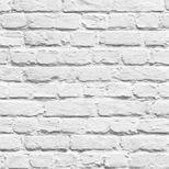 Papier peint duplex brique blanche Bricksilver