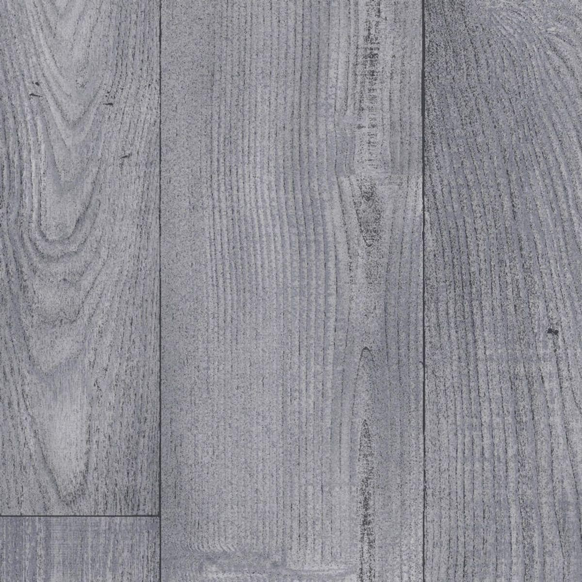 Sol PVC chêne taupe gris Aoste 400cm