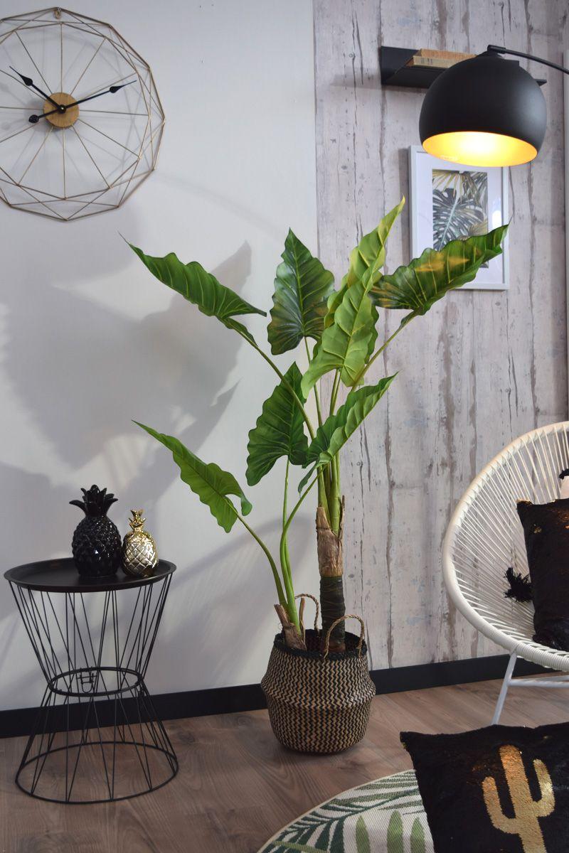 Arbuste artificiel bananier en pot H. 120 cm
