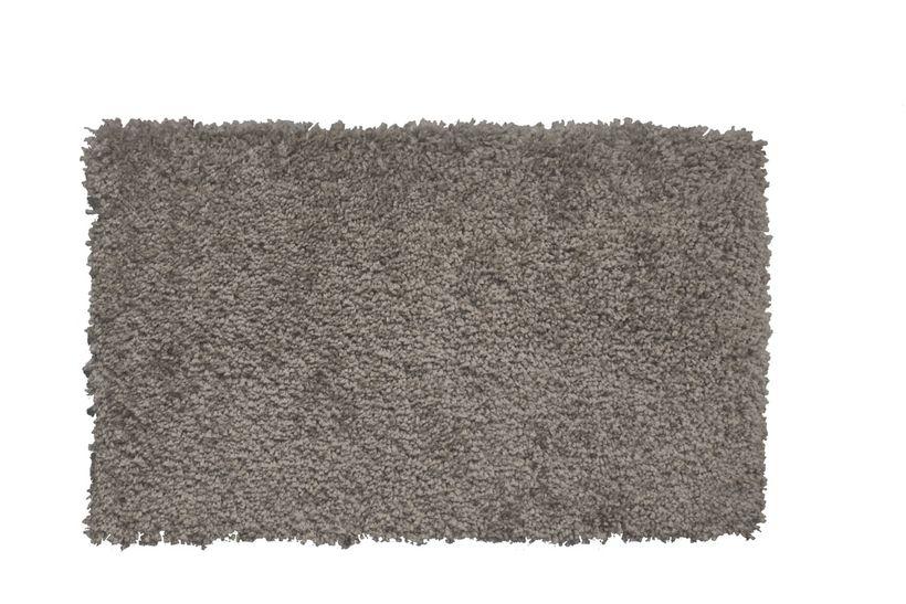 Tapis shaggy gris aluminium Softy 120x170 cm