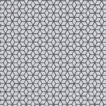 Papier Peint Geometrique Gris Snowdon Intisse