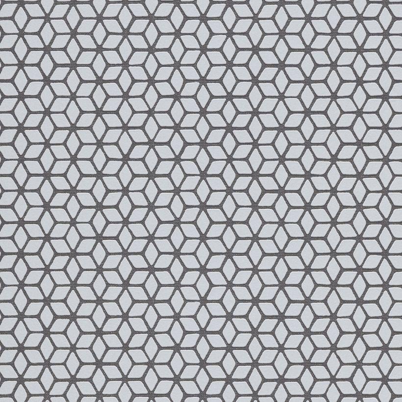 Papier peint géométrique gris Snowdon intissé