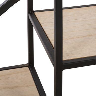 etag re m tal noir bois magasin de d co kalico. Black Bedroom Furniture Sets. Home Design Ideas