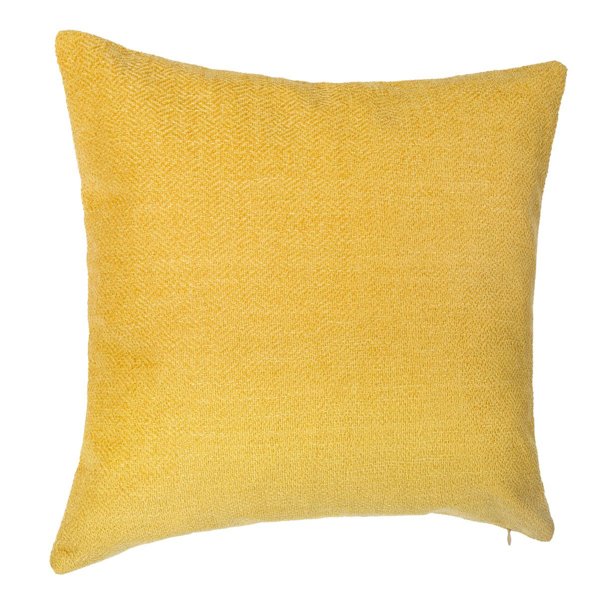 Coussin Baraco moutarde 40x40cm