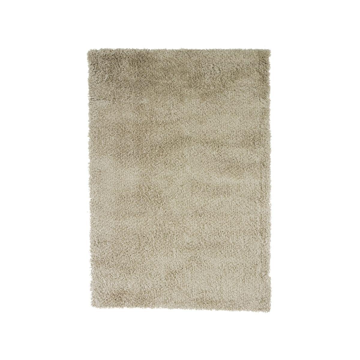 Tapis shaggy blanc craie Softy 200x290 cm