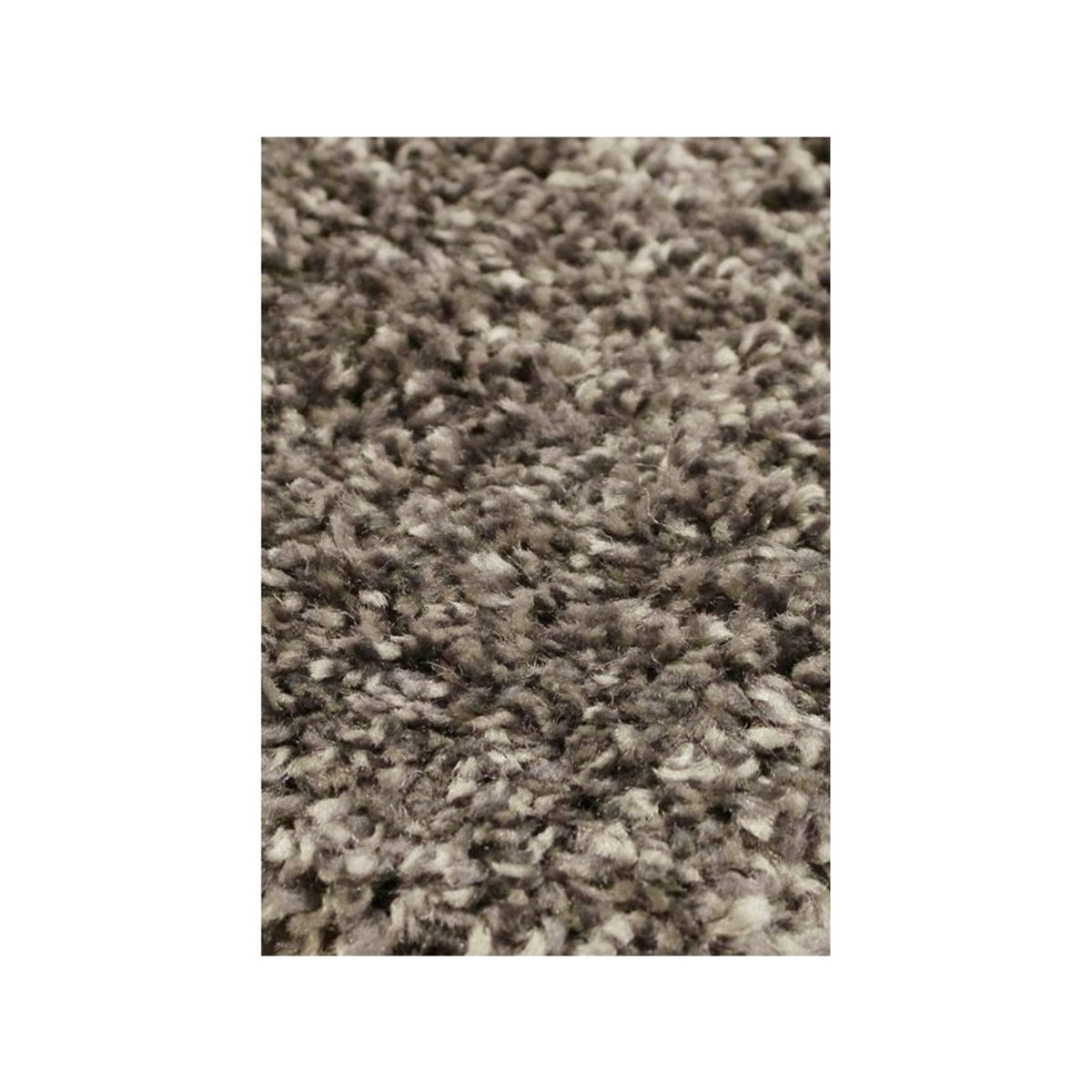 Tapis shaggy gris anthracite Softy 60x110 cm