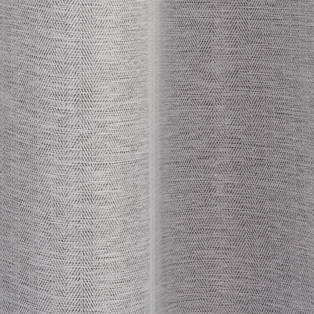 Rideau occultant gris moyen Pichima 140x260 cm