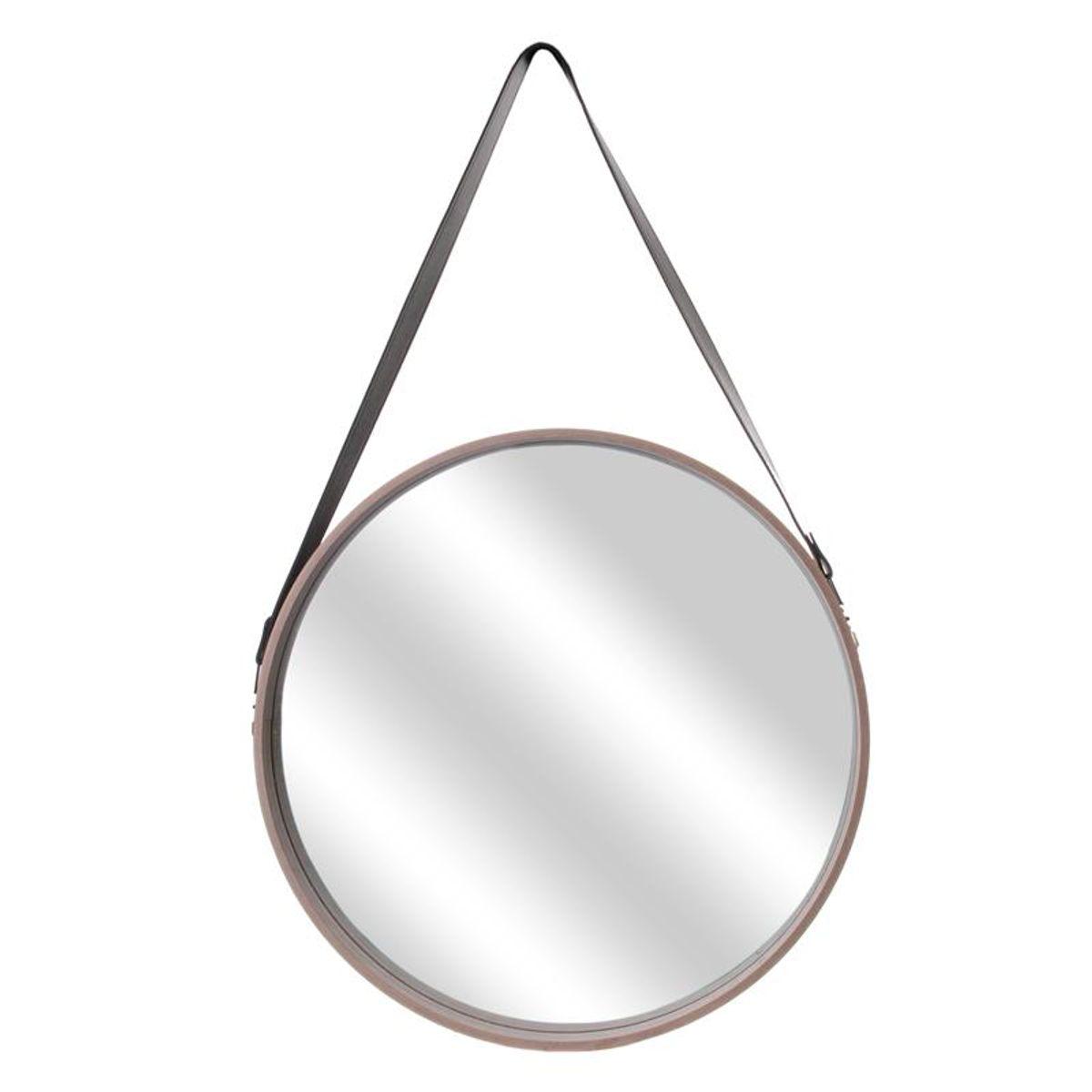 Miroir bois à anse